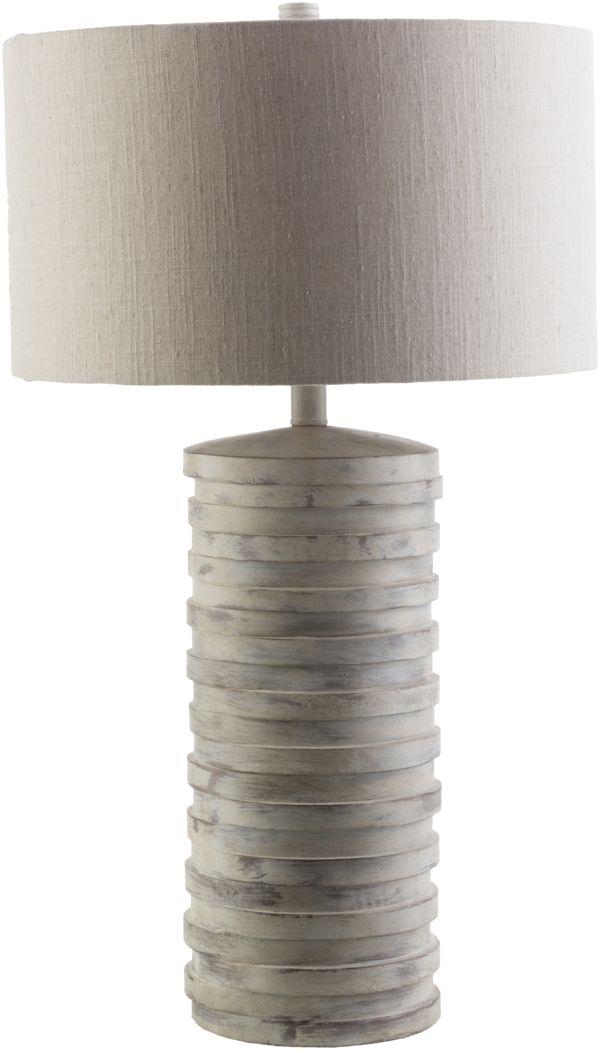 Beachtree Lane Gray Lamp