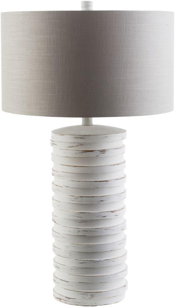 Beachtree Lane White Lamp