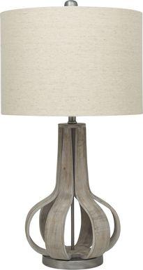 Beachwood Bay Gray Table Lamp