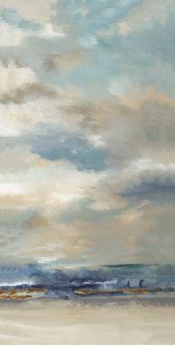 Beautiful Sky 7' Long Canvas Artwork