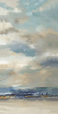 Beautiful Sky 7' Long Canvas Artwork