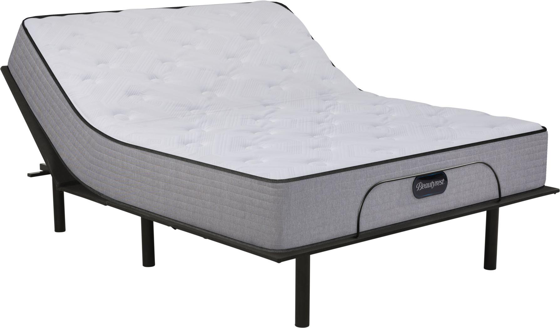 Beautyrest Bristol Hills King Mattress with RTG Sleep 2000 Adjustable Base