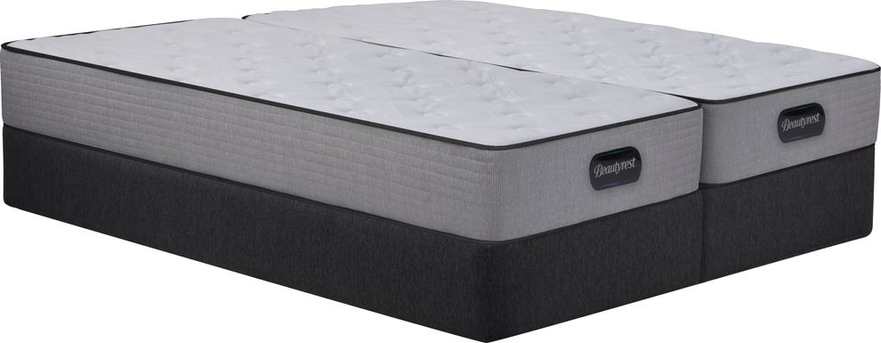 Beautyrest Bristol Hills Low Profile Split King Mattress Set