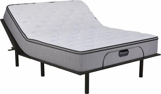 Beautyrest Canfield Hills King Mattress with RTG Sleep 2000 Adjustable Base