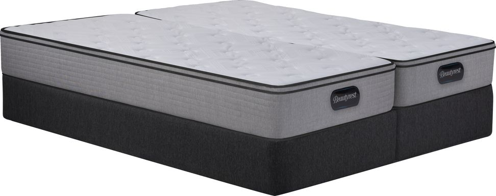 Beautyrest Canfield Hills Low Profile Split King Mattress Set