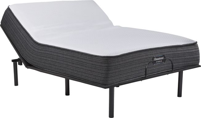 Beautyrest Hybrid Belmont Springs Queen Mattress with RTG Sleep 2000 Adjustable Base