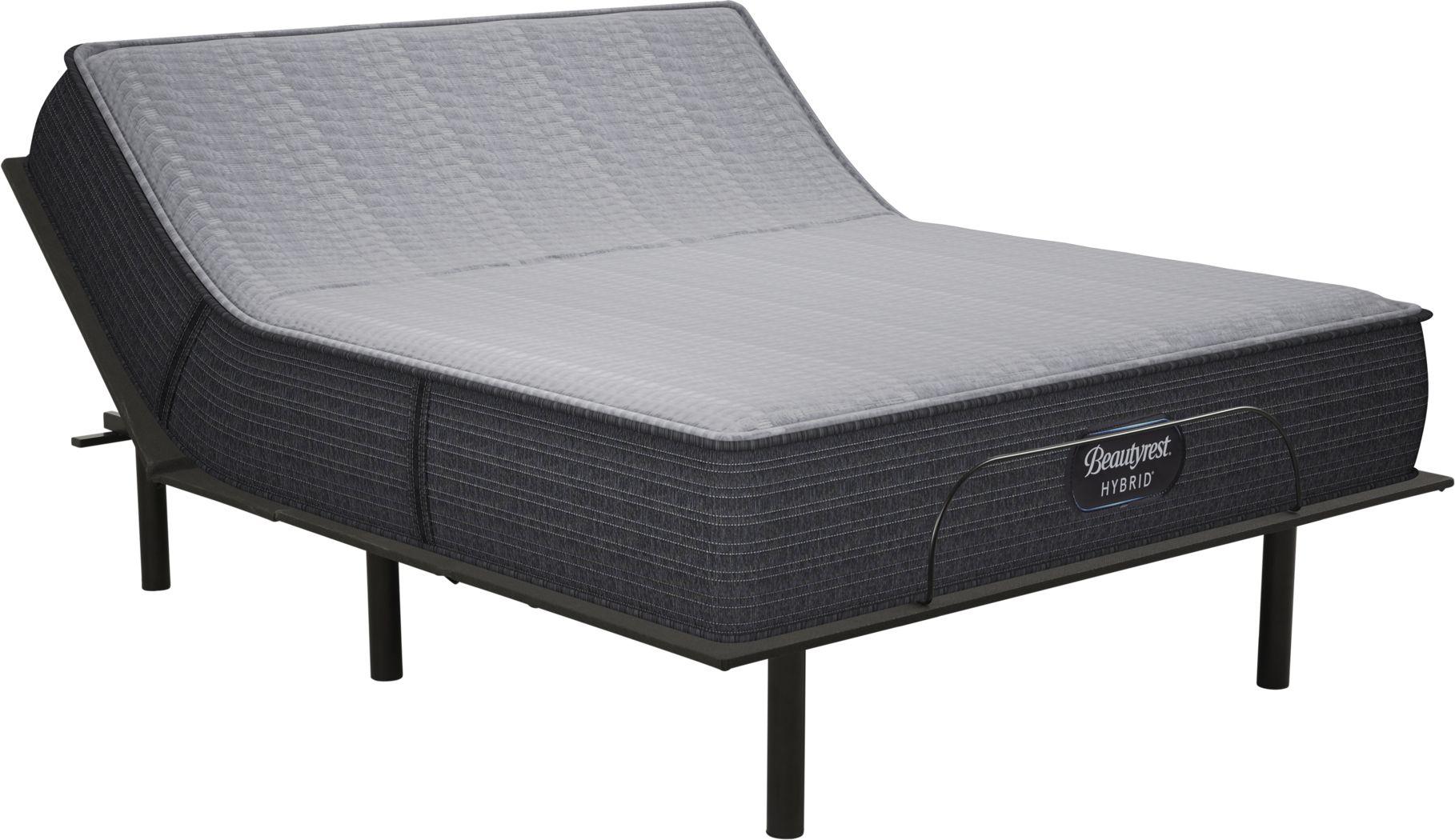 Beautyrest Hybrid Pacific Blue King Mattress with RTG Sleep 2000 Adjustable Base