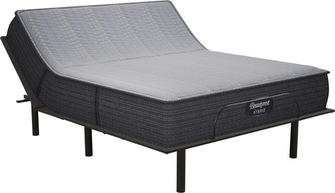 Beautyrest Hybrid Pacific Blue Queen Mattress with RTG Sleep 2000 Adjustable Base