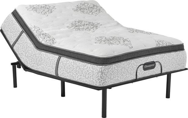 Beautyrest Legend Bradford Queen Mattress with RTG Sleep 2000 Adjustable Base