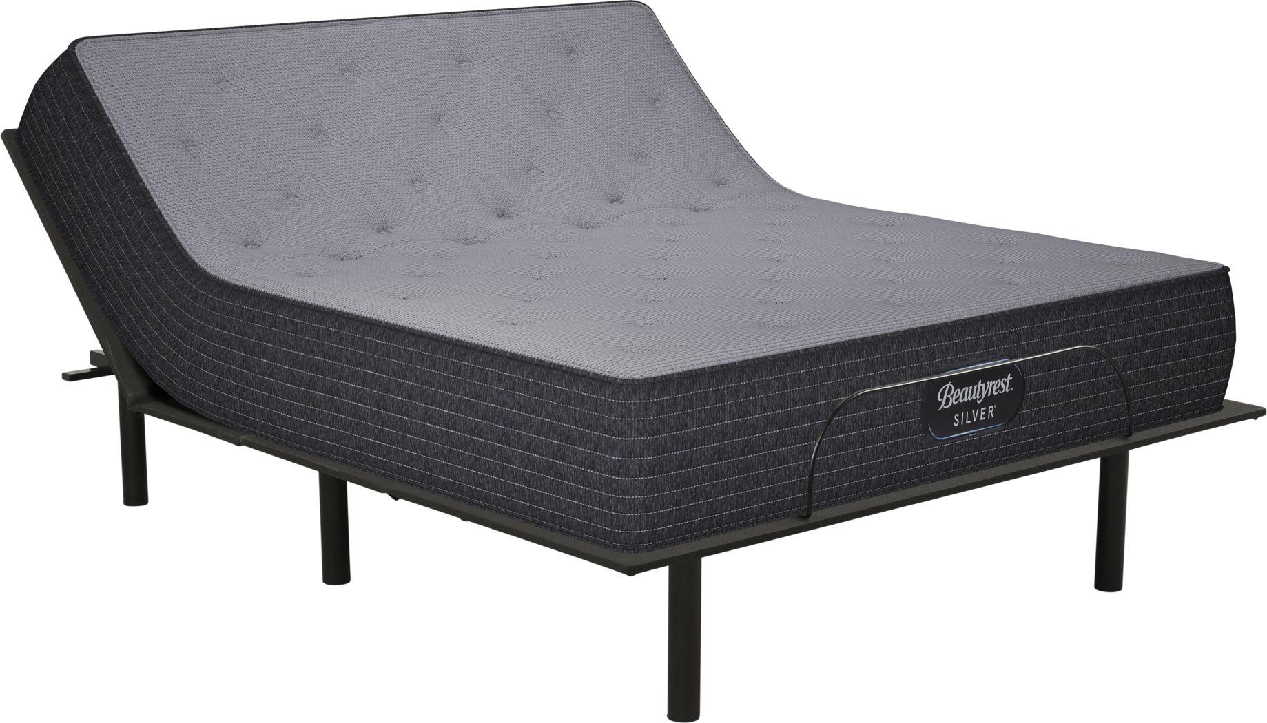 Beautyrest Silver Clover Lane King Mattress with RTG Sleep 2000 Adjustable Base