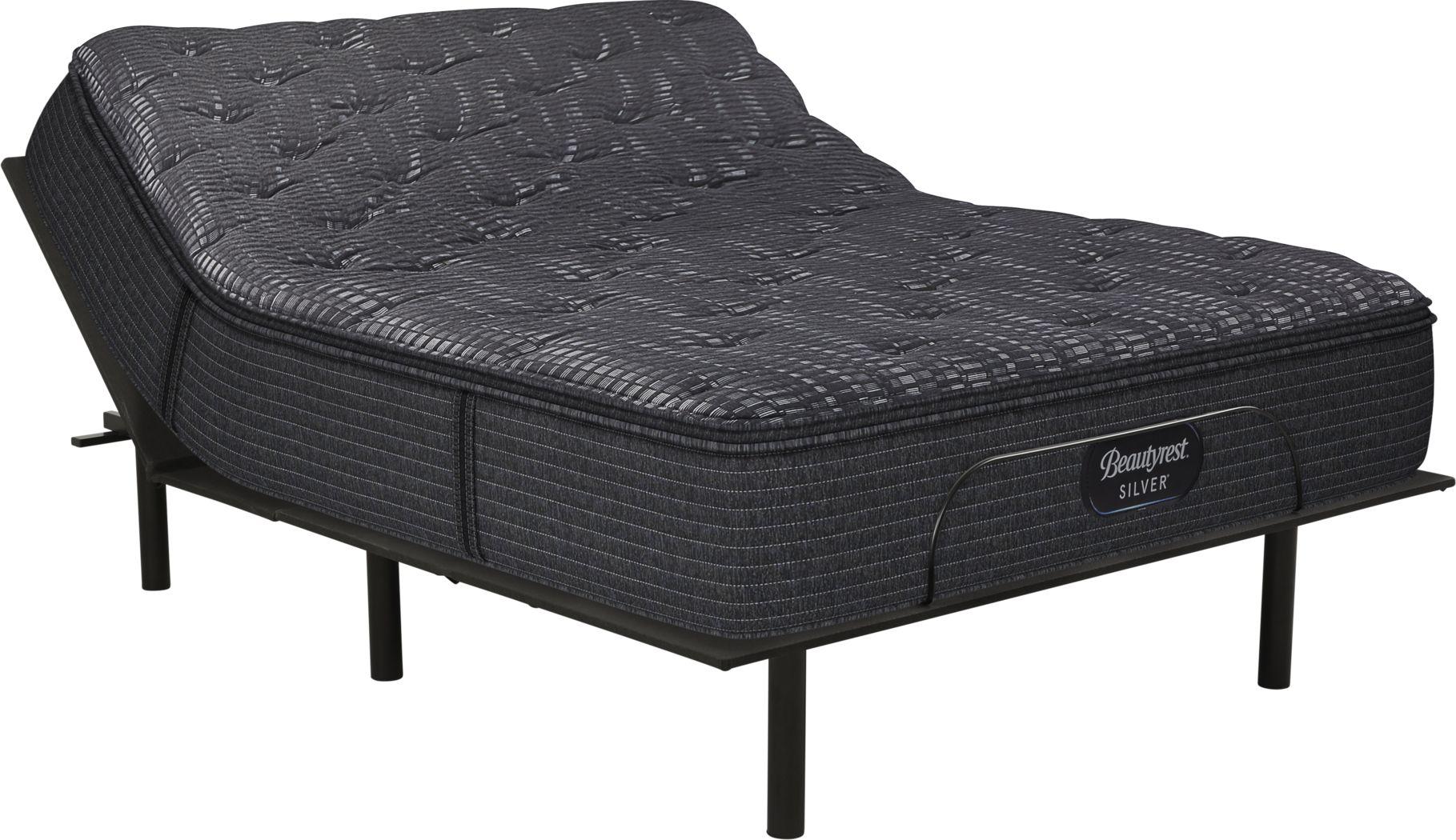 Beautyrest Silver Summerdale Queen Mattress with RTG Sleep 2000 Adjustable Base