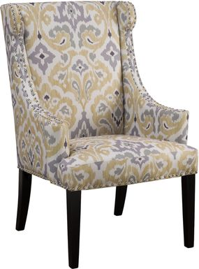 Beckfield Yellow Accent Chair