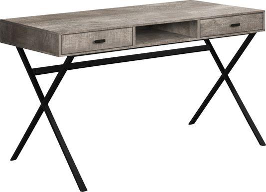 Beckhaven Taupe Desk