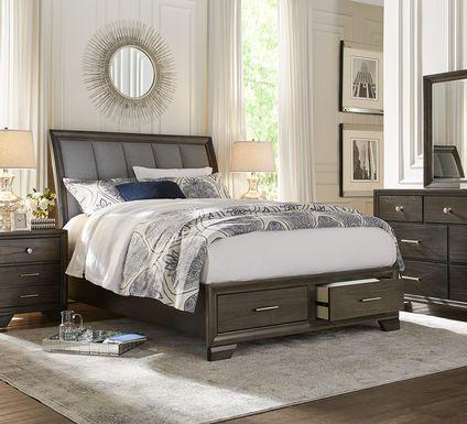 Beckwood Gray 7 Pc King Storage Bedroom