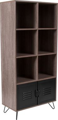 Beechdale Brown Bookcase
