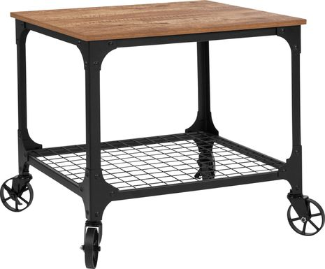 Beehler Brown Bar Cart
