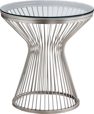 Belclaire Silver Accent Table