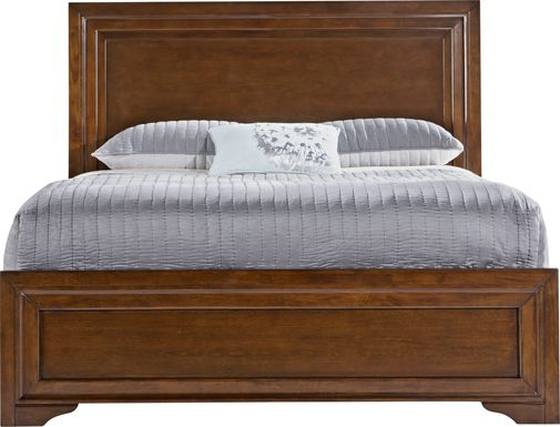 Belcourt Cherry 3 Pc Queen Panel Bed
