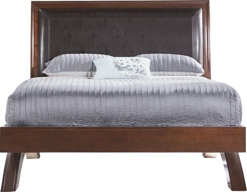 Belcourt Cherry 3 Pc Queen Platform Bed