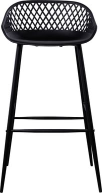 Belcross Black Outdoor Barstool
