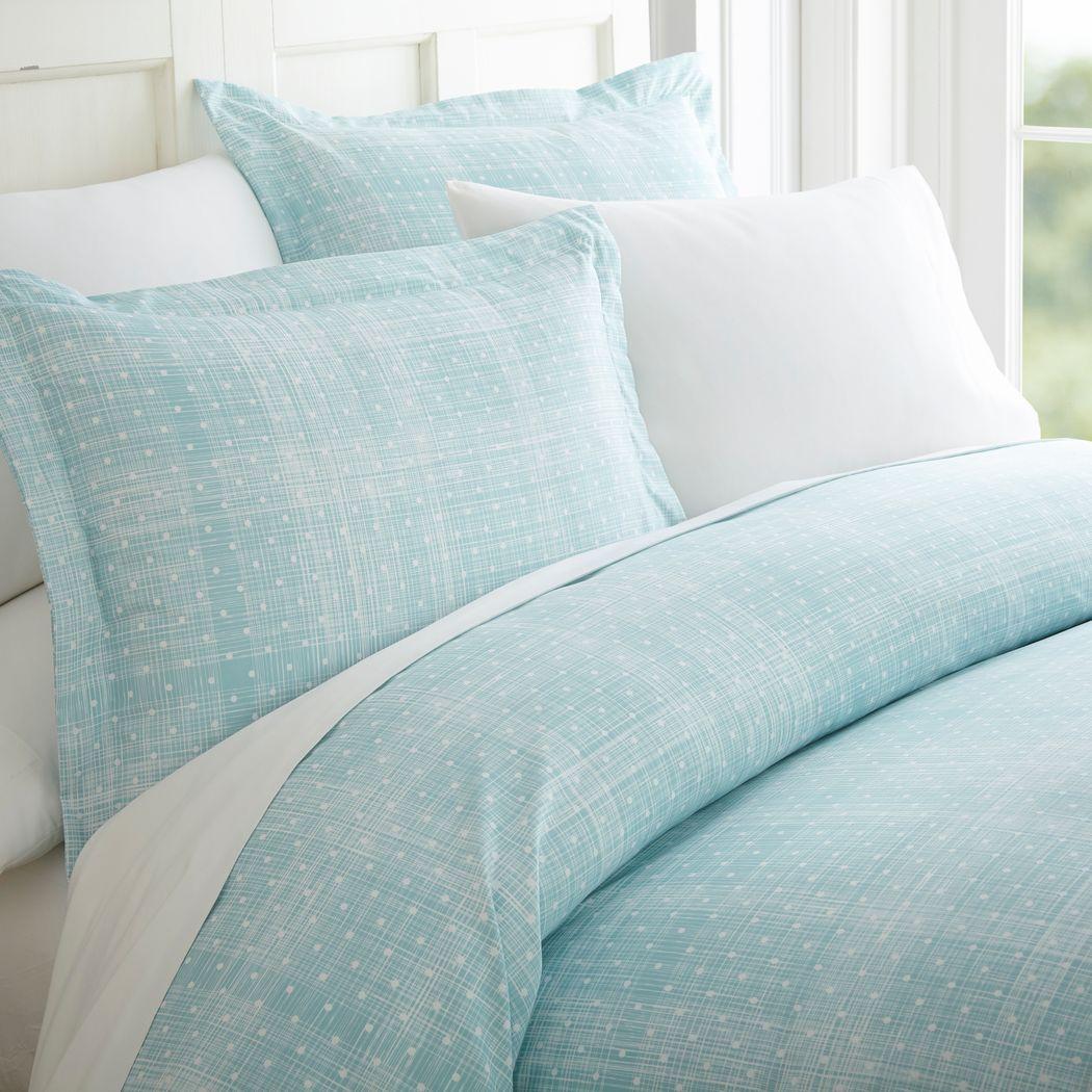 Belden Landing XIV Aqua 4 Pc King Bed Sheet Set