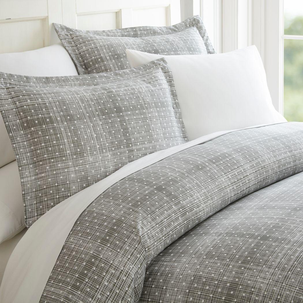 Belden Landing XIV Gray 4 Pc Queen Bed Sheet Set