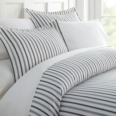 Belden Landing XXXI Gray 3 Pc Queen Duvet Set