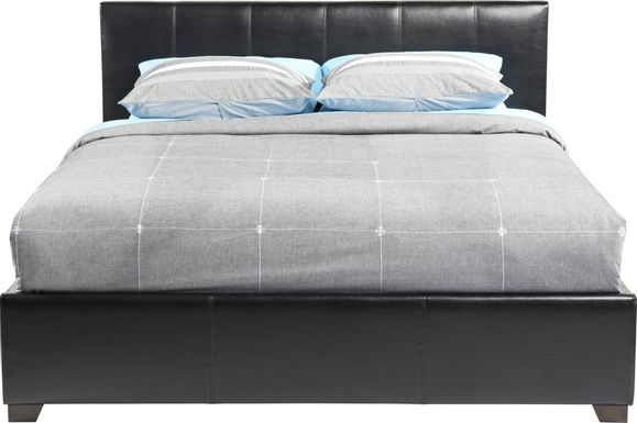 Belfair Black 3 Pc Queen Bed