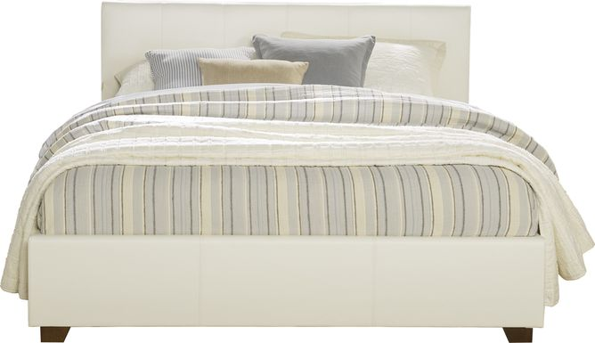 Belfair White 3 Pc Queen Bed