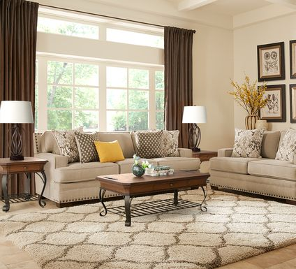 Belhaven Beige 7 Pc Living Room