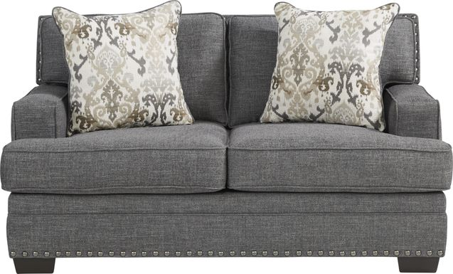 Belhaven Graphite Loveseat