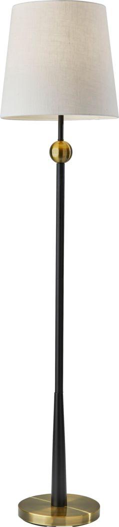 Bellaire Avenue Black Floor Lamp