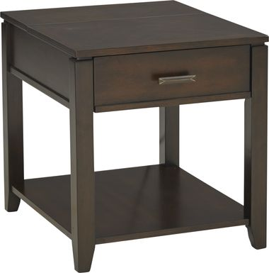 Belman Brown End Table