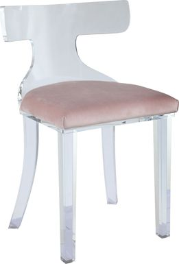 Belridge Light Pink Dining Chair