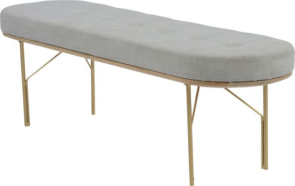 Benfield Gray Bench