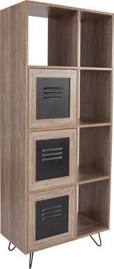 Benhurst Brown Bookcase