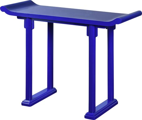 Benidorm Blue Console Table