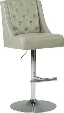 Benji Gray Adjustable Swivel Barstool