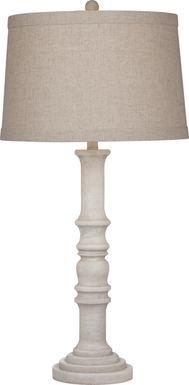Bentbrook White Lamp