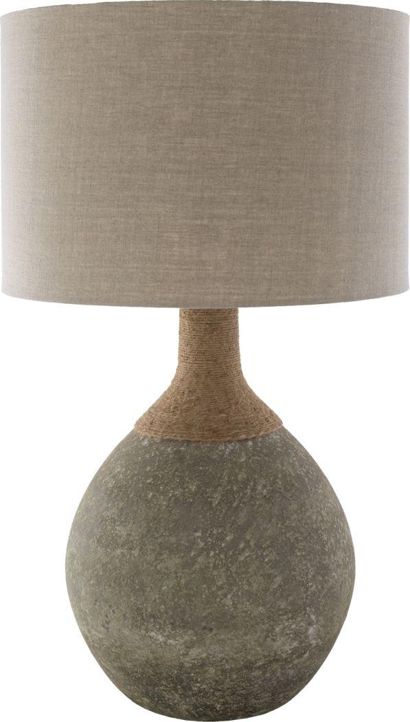 Benview Drive Khaki Lamp