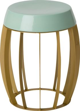 Berendo Blue Accent Table
