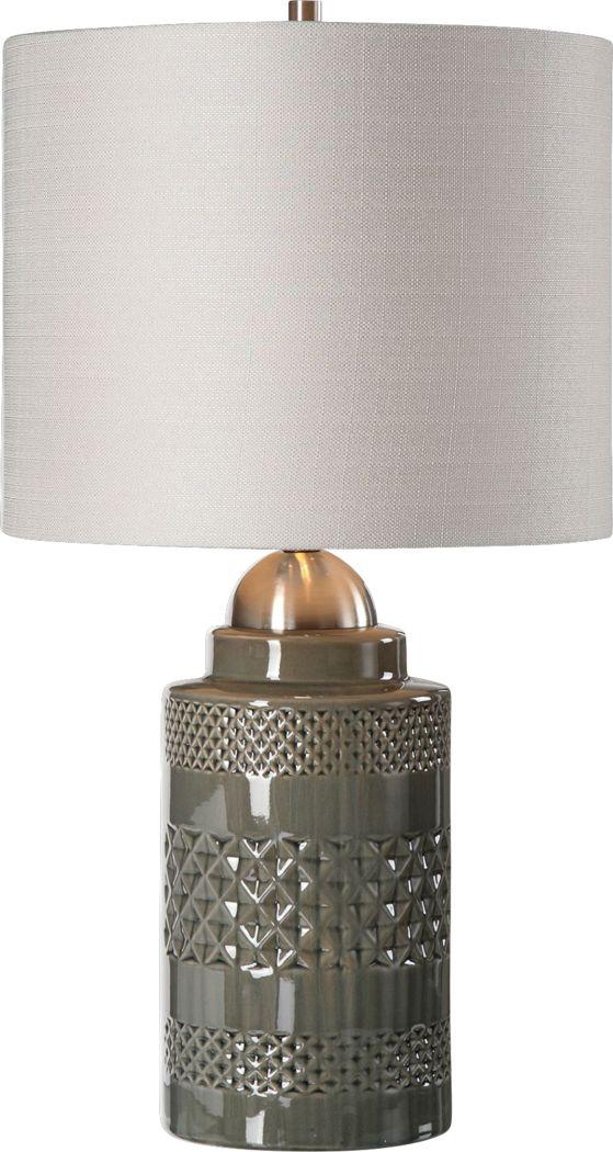 Berkner Gray Lamp