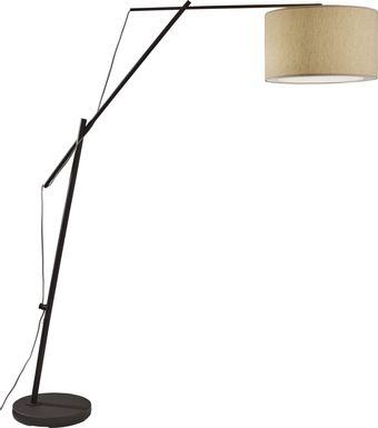 Berkstone Black Floor Lamp