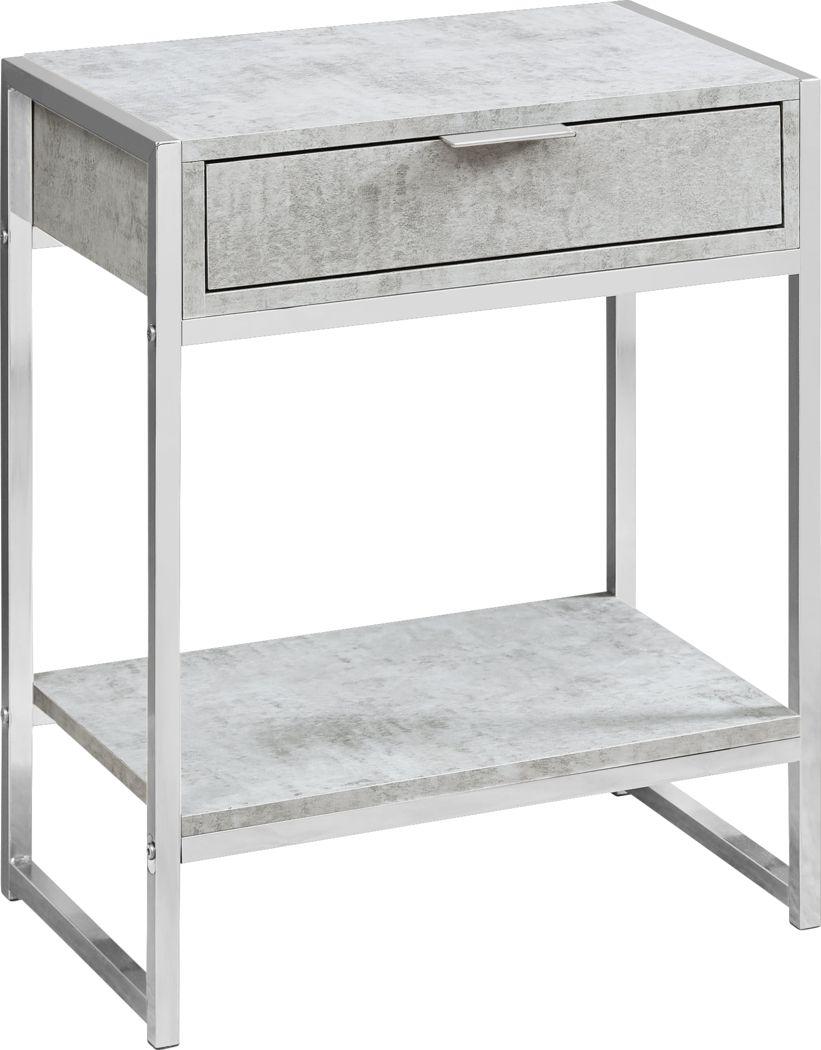 Berrien Gray Accent Table