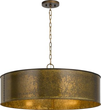 Bertellis Gold Chandelier