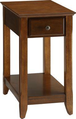 Bertie Brown Chairside Table