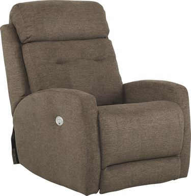 Bessemer Brown Power Recliner
