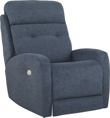 Bessemer Navy Power Recliner