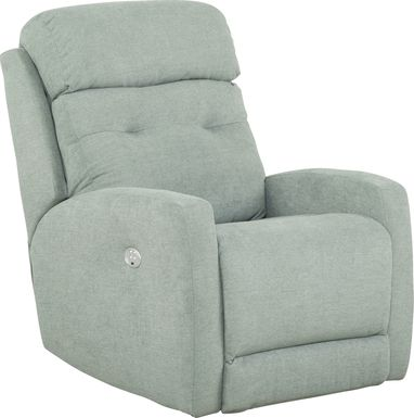 Bessemer Seafoam Power Recliner