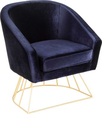 Bethune Blue Accent Chair